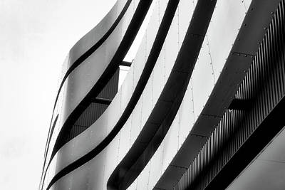 Photograph - Architectural Flow 11 by Mark David Gerson