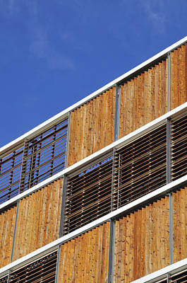 Venetian Blinds Photograph - Architectural Louvres by Andy Smy