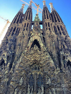 Photograph - Architectural Masterpiece - Sagrada Familia by Colleen Kammerer