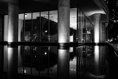 Photograph - Architectural Reflecting Pool 2 by John McArthur