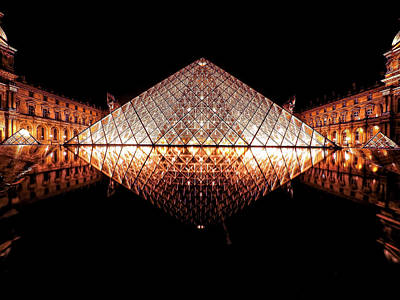 Photograph - Architectural Symmetry by Lilia D