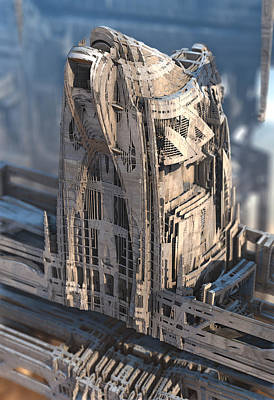 Digital Art - Architecturally Delicious by Hal Tenny