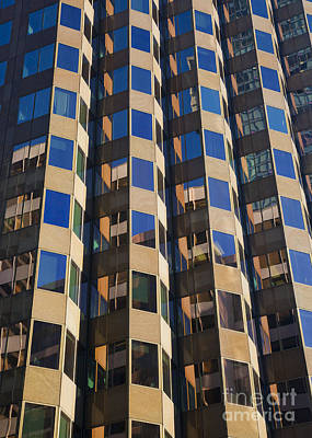 Photograph - Architecture Abstract by Chris Dutton
