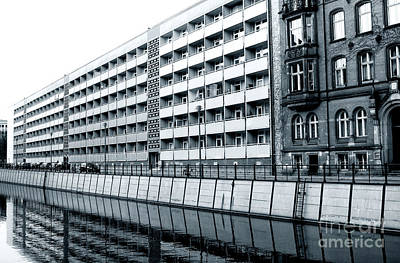Photograph - Architecture Along The Spree River by John Rizzuto