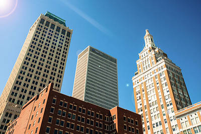 Wall Art - Photograph - Architecture And Skyscrapers Of The Tulsa Skyline by Gregory Ballos