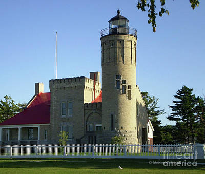 Photograph - Architecture Ar10 - Lighthouse by Monica C Stovall