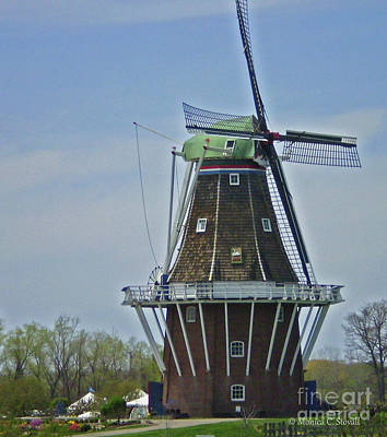 Photograph - Architecture Ar18 - Windmill by Monica C Stovall