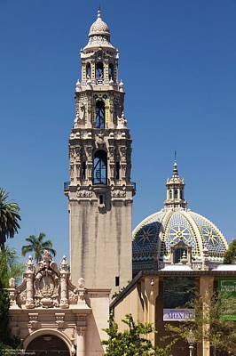 Photograph - Architecture At Balboa Park - 1 by Hany J