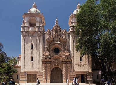 Photograph - Architecture At Balboa Park - 2 by Hany J