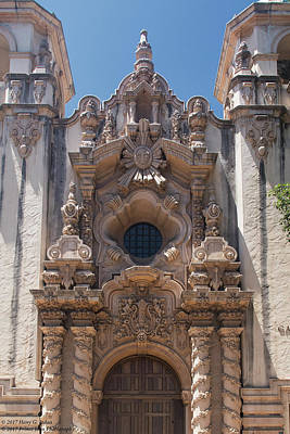 Photograph - Architecture At Balboa Park - 3 - Close-up by Hany J