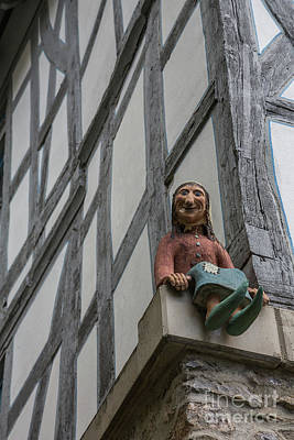 Photograph - Architecture Detail In Old Limburg by Eva Lechner