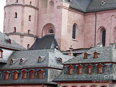 Photograph - Architecture In Mainz by Sarah Loft