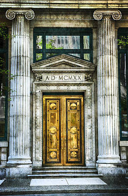 Photograph - Architecture - Ionic Columns by Theresa Tahara