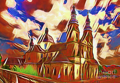 Photograph - Architecture Magnificence 20218 by Ray Shrewsberry
