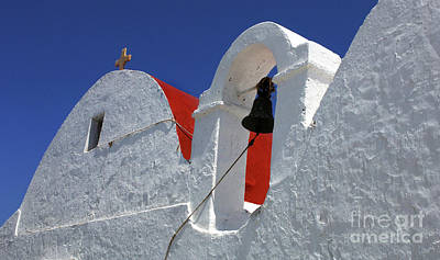 Photograph - Architecture Mykonos Greece by Bob Christopher