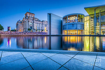 Photograph - Architecture Of Berlin by JR Photography