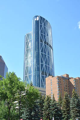 Photograph - Architecture Of Calgary by Nicki Bennett