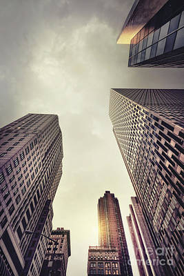 City Scenes Royalty-Free and Rights-Managed Images - Architecture Of Light by Evelina Kremsdorf