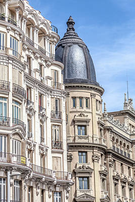 Madrid Photograph - Architecture Of Madrid by W Chris Fooshee
