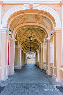 Architecture Of Odessa 16 Art Print