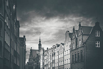 Photograph - Architecture Of Old Gdansk  by Carol Japp
