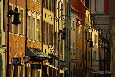 Architecture Of Old Market In Poznan Poland  Original