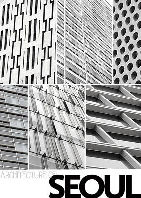 Photograph - Architecture Of Seoul by Nancy Ingersoll