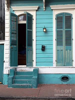 Photograph - Architecture Of The French Quarter New Orleans by Louise Heusinkveld