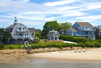 Photograph - Harbor Homes - Architecture Series 01 by Carlos Diaz