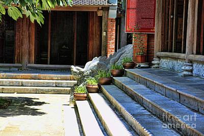 Photograph - Architecture Tam Coc Vietnam by Chuck Kuhn