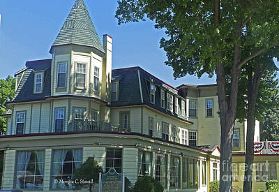 Photograph - Architecture - Victorian Style Hotel by Monica C Stovall
