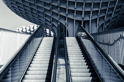 Photograph - Architectures From The Metropol by Andrea Mazzocchetti