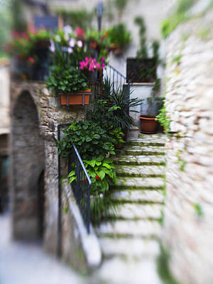 Photograph - Archway And Stairs by Marilyn Hunt