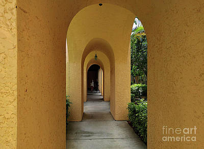 Photograph - Archway by Gary Wonning
