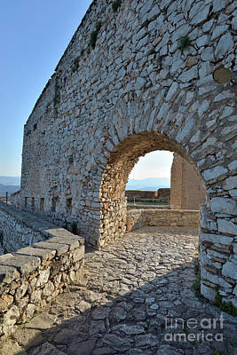 Photograph - Archway In Palamidi Castle by George Atsametakis