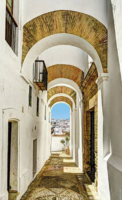 Photograph - Archway In Vejer by Weston Westmoreland