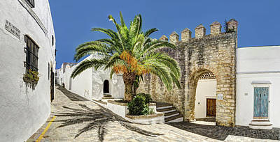Photograph - Archway Of The Walled Gate In Vejer by Weston Westmoreland