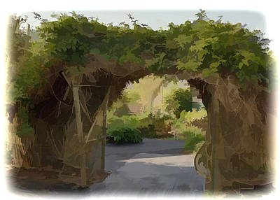 Mixed Media - Archway To Heaven by Pamela Walton