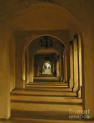 Photograph - Archway by Tom Griffithe
