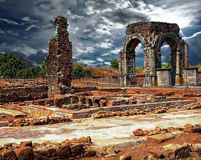 Photograph - Arco De Caparra by Anthony Dezenzio
