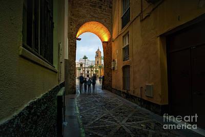 Photograph - Arco De La Rosa Cadiz Spain by Pablo Avanzini