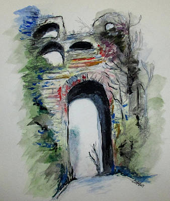 Arco Felice Napoli Art Print by Clyde J Kell