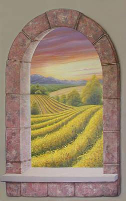 Arco Vinal Art Print by Angel Ortiz