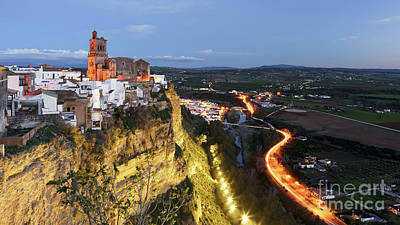 Photograph - Arcos De La Frontera View From Parador Nacional Cadiz Spain by Pablo Avanzini