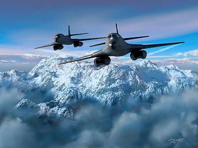 Digital Art - Arctic Blitz by Dave Luebbert