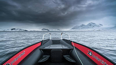 Photograph - Arctic Boat Ride by James Billings