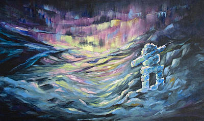 Tundra Painting - Arctic Experience by Joanne Smoley