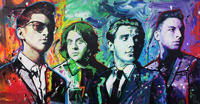 Arctic Monkeys Original by Richard Day