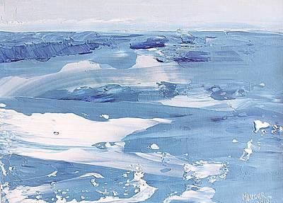 Arctic Ocean Art Print