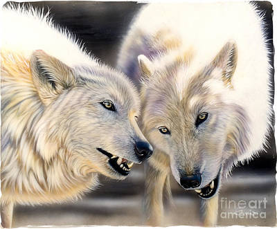 Arctic Pair Art Print by Sandi Baker